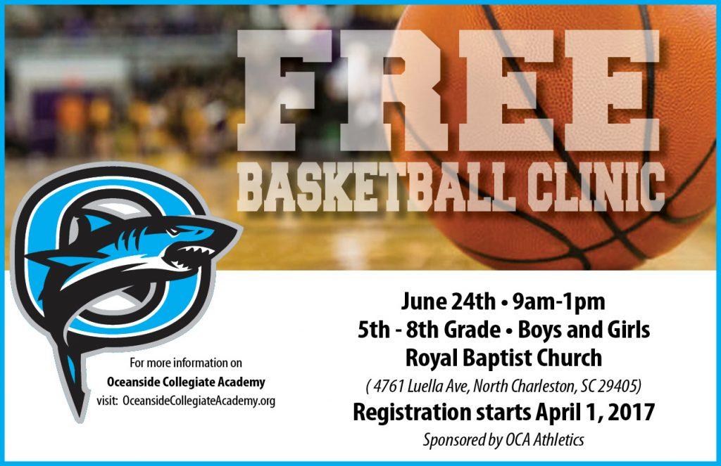 FREE Basketball Clinic @ Royal Baptist Church